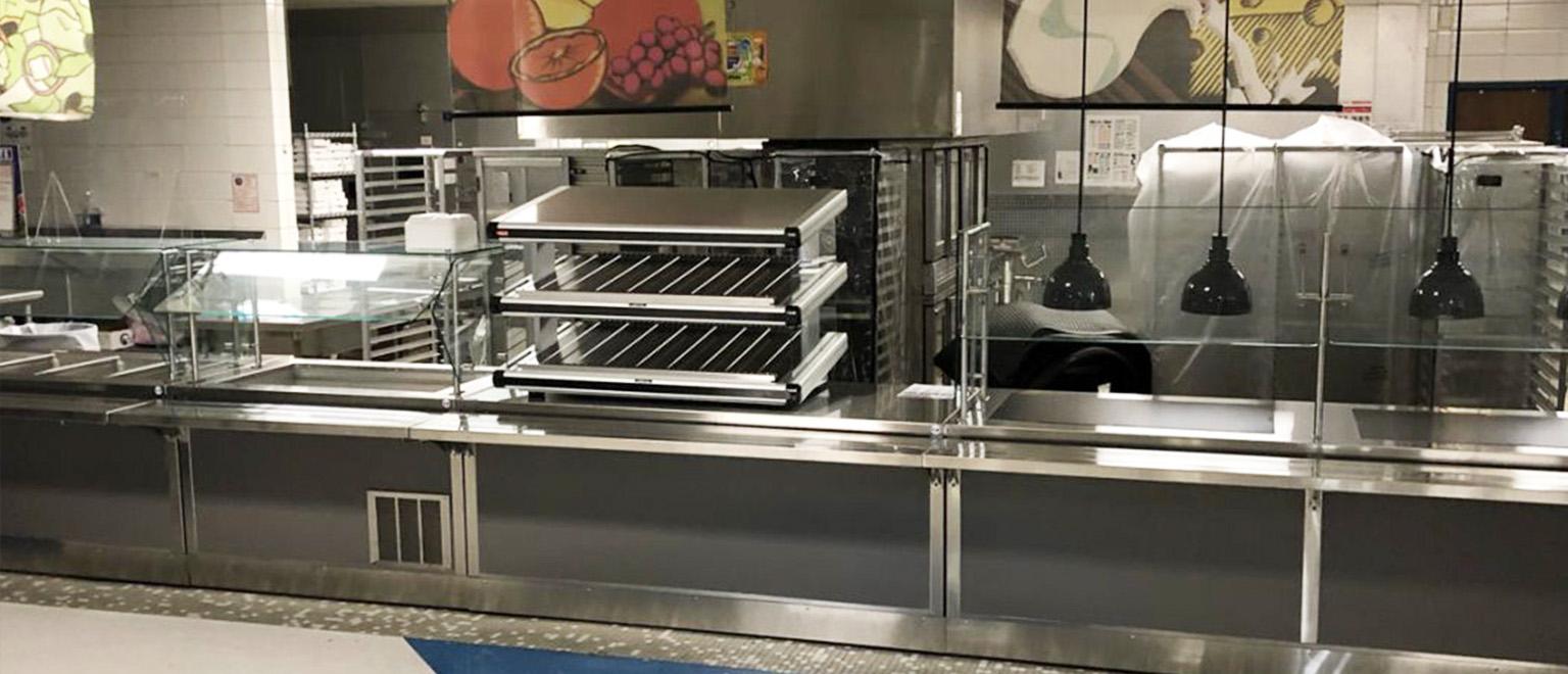 Delfield Serving Line School Cafeteria