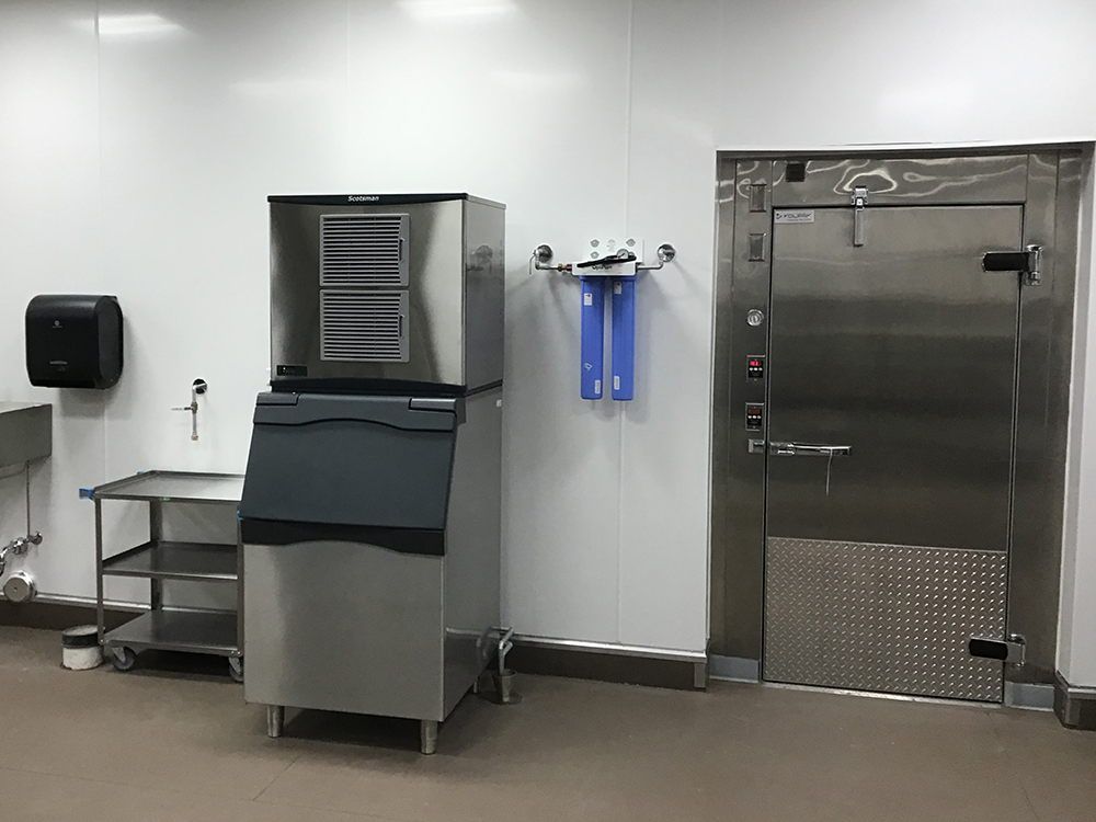Ice Machine and Walk-In Cooler
