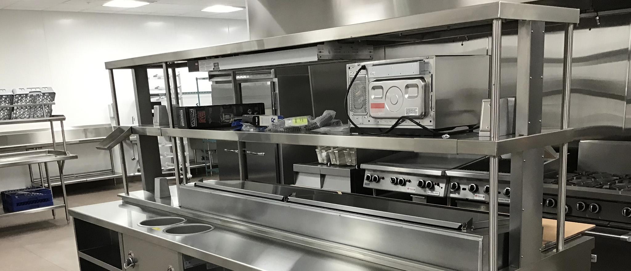 Commercial Kitchen Workstation