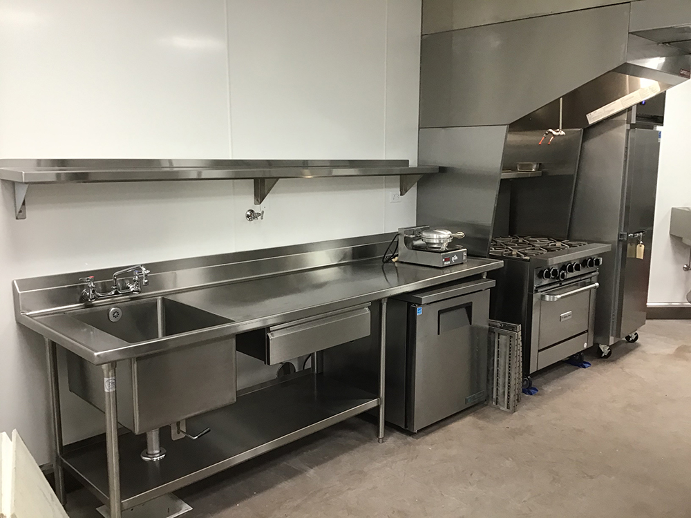 Stainless Steel Fabrication Work Table